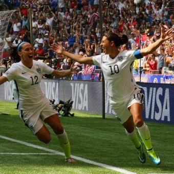 Estados Unidos conquista por tercera vez la Copa Mundial Femenina en Canadá 2015