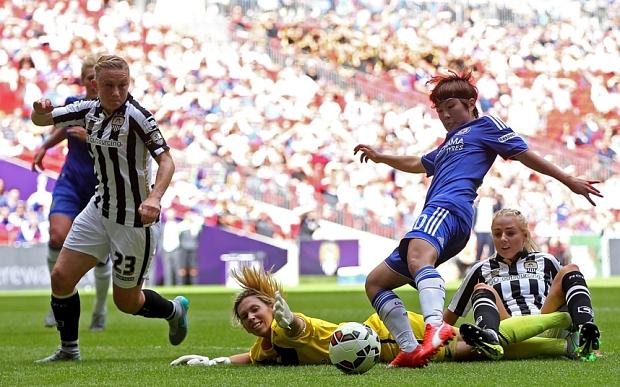 Chelsea conquista la FA Cup Femenina 2015 ante Notts County por 1-0