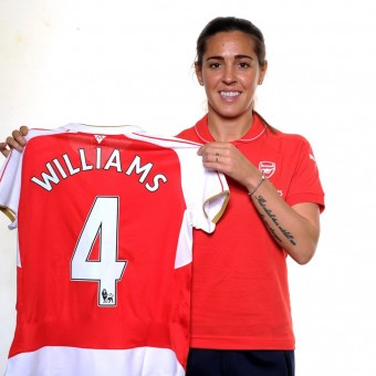 Fara Williams llega con su experiencia al Arsenal Ladies