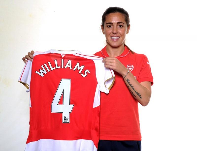 Fara Williams llega con su experiencia al Arsenal Ladies