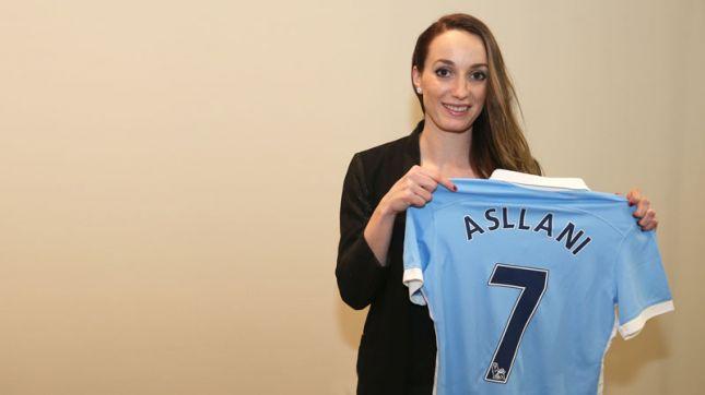 Kosovare Asllani es fichada por el Manchester City por dos temporadas