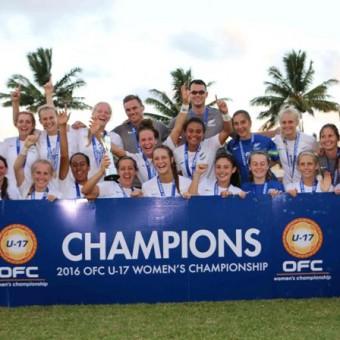 Nueva Zelanda aseguró su presencia para el Mundial Femenino Sub-17 de Jordania