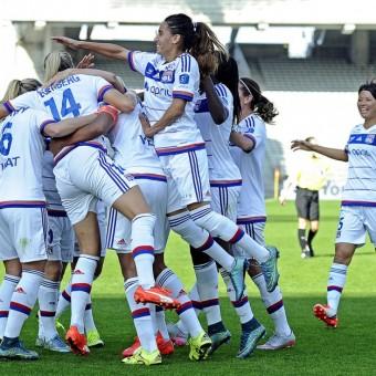 Lyon aplasta con 12 goles a Guingamp y es líder absoluto de la Liga Femenina Francesa D1