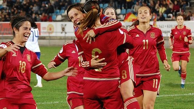 España entra de forma directa a la Eurocopa Femenina