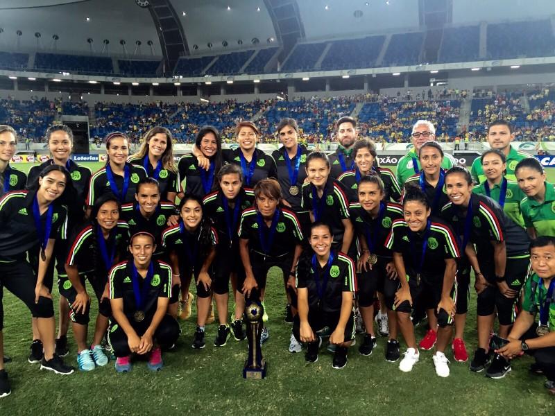 Selección Femenina de México convoca 24 jugadoras para Torneo Cuatro Naciones de Shenzhen en China