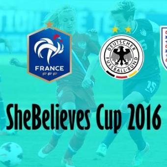 SheBelieves Cup 2016, el torneo amistoso que convoca a Estados Unidos, Francia, Alemania e Inglaterra