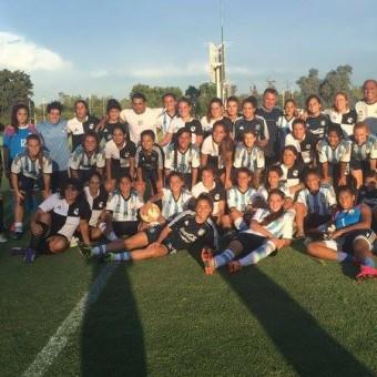 Argentina realizó última práctica con miras al Sudamericano Femenino Sub-17