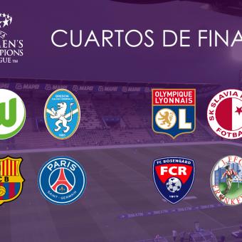 Horarios definidos para los duelos de cuartos de final de la UEFA Women's Champions League