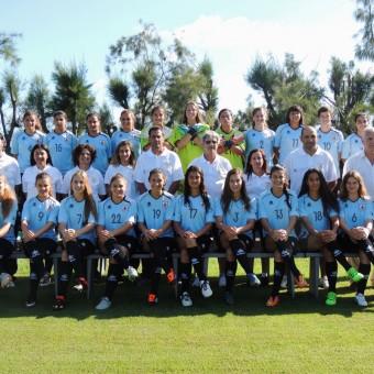 Plantel de Uruguay sub-17 femenino confirmado.