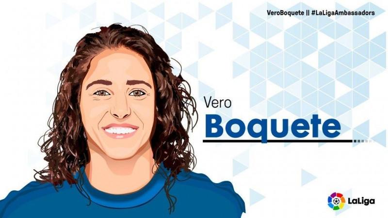 Vero Boquete será nueva embajadora de LaLiga española