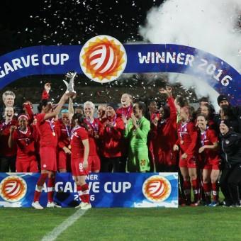 Canadá vence a Brasil por la final de la Algarve Cup 2016 y logra su primer título