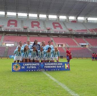 Con un empate inicia esta jornada de Sudamericano: Argentina 1 – Chile 1.