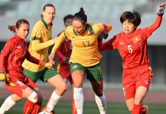 Australia mantiene su curva ascendente hacia Río 2016, goleó a la débil Vietnam 9-0