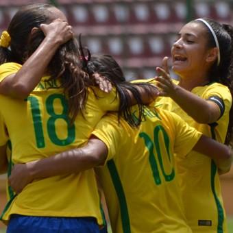 Brasil segunda clasificada a la Fase Final del Sudamericano Femenino Sub-17.
