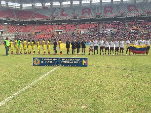 Colombia cae goleada ante Venezuela en el Sudamericano Sub-17 Femenino