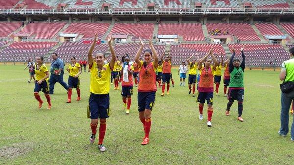 Colombia clasifica a la ronda final del Sudamericano.