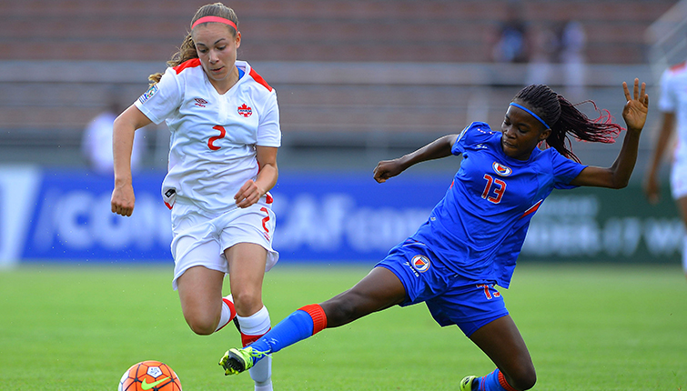 Victoria histórica de Haití sobre Canadá en el Sub-17 Femenino de CONCACAF