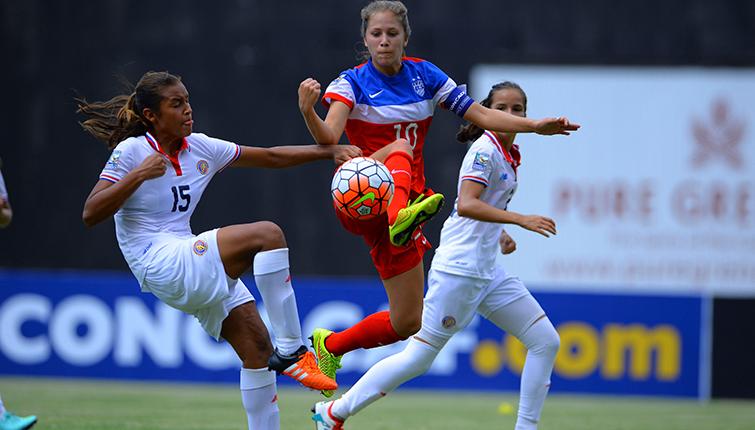 Estados Unidos y México acceden a semifinales del Sub-17 Femenino de CONCACAF