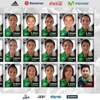 México alista maletas para el Campeonato Femenino Sub 17.