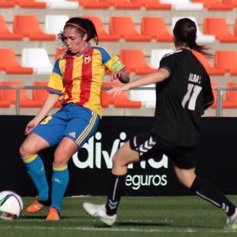 Natalia Gaitán anotó su primer gol con el Valencia en la liga española