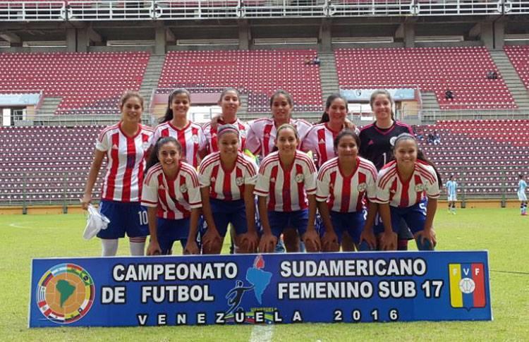 Paraguay tercera clasificada en el Sudamericano.