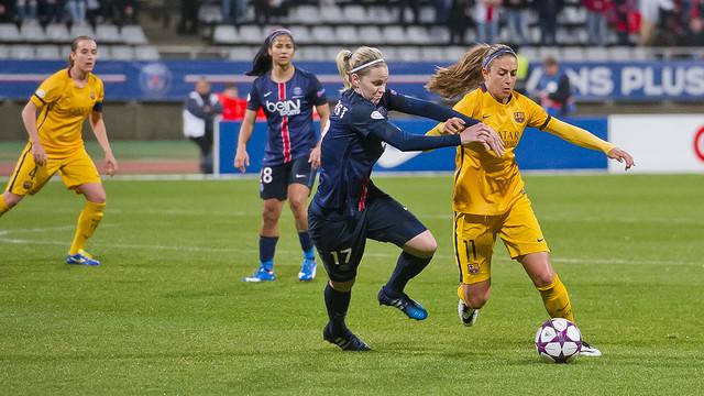 Paris Saint-Germain sufrió para eliminar a Barcelona de la Champions League Femenina