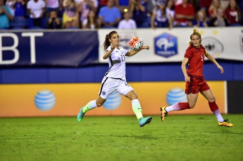 Estados Unidos se proclama campeón de la SheBelieves Cup, gracias a su victoria contra Alemania