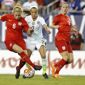 SheBelieves Cup: Estados Unidos y Alemania sufrieron para ganar