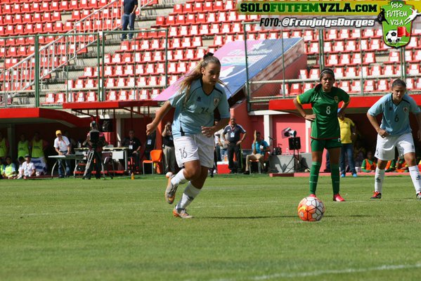 Las charrúas obtienen sus primeros 3 puntos ante Bolivia.