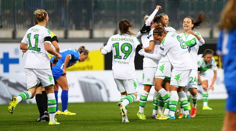 Wolfsburgo, Frankfurt y Lyon imponen su favoritismo en la Champions League Femenina