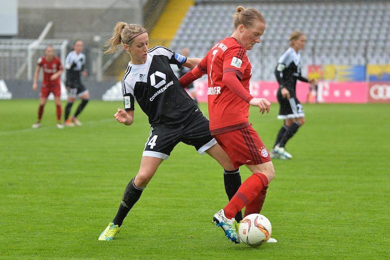 Bayern Múnich pierde su invicto ante Frankfurt, pero sigue líder de la Bundesliga Femenina