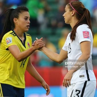 Nataly Arias, la muralla de la Selección femenina de Colombia.