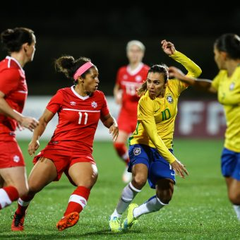 Brasil convoca 20 jugadoras para amistosos contra Canadá
