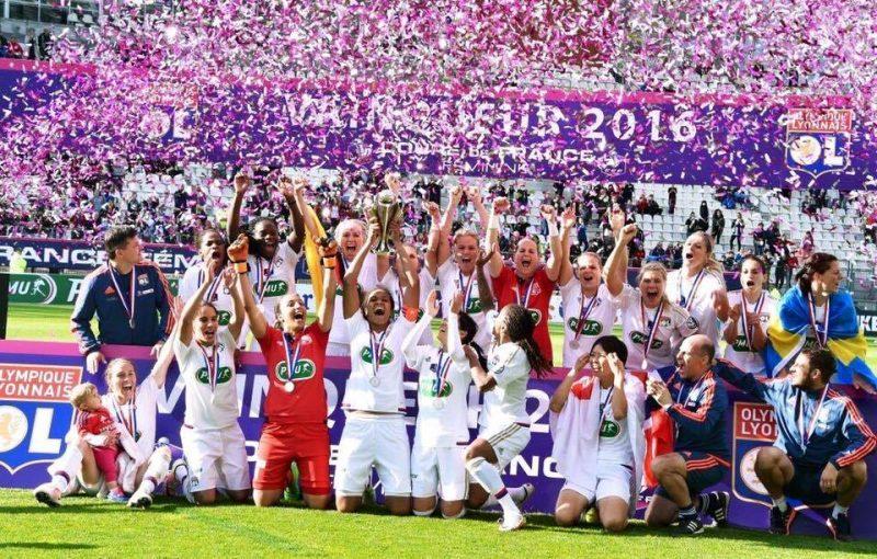Louisa Necib hizo el gol del título para el Lyon en la Copa de Francia