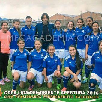 Millonarios hará historia con su debut en un torneo juvenil femenino