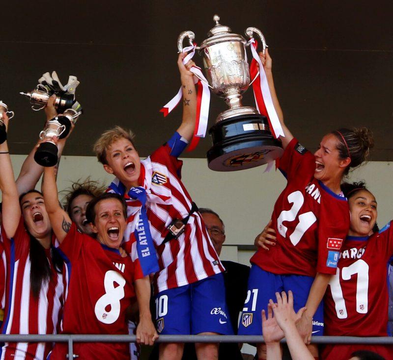Atlético Madrid conquista su primera Copa de la Reina