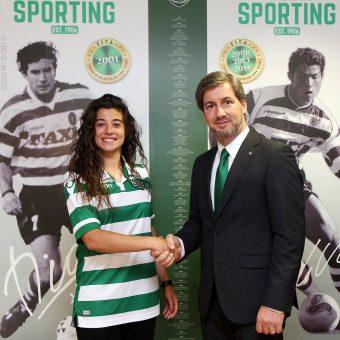 Rita Fontemanha es nueva jugadora de Sporting Clube de Portugal