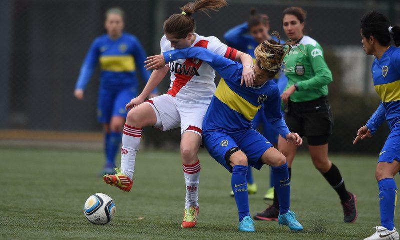 Boca se impuso a River en el Superclásico Femenino