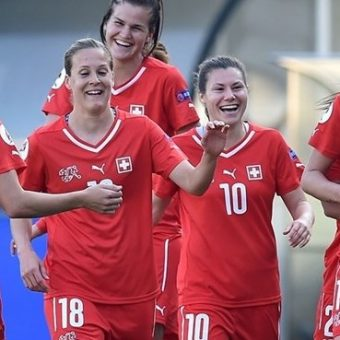 Suiza ingresa por primera vez a la Eurocopa Femenina
