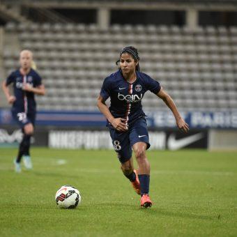 Shirley Cruz renueva contrato con Paris Saint Germain hasta 2018