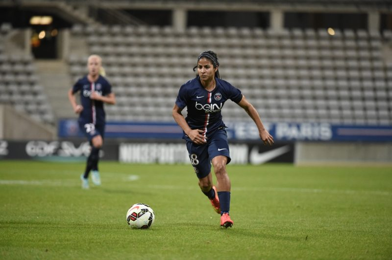Shirley Cruz renueva contrato con Paris Saint Germain hasta 2018