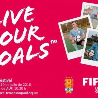 Live Your Goals de FIFA llega a Uruguay.