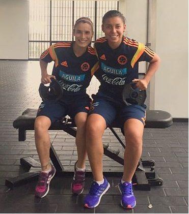 Yoreli Rincón y Daniela Montoya ausencias que duelen.