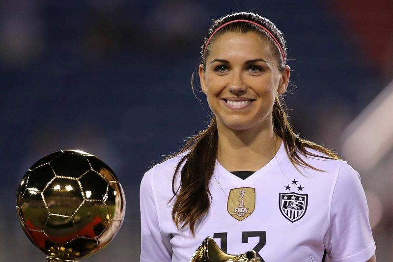 27 razones suficientes para admirar a Alex Morgan