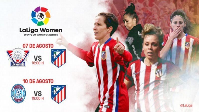 Atlético Madrid estrenará LaLiga Women en Suecia