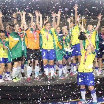 Brasil se corona campeón del Sudamericano Sub-20 de Futsal Femenino
