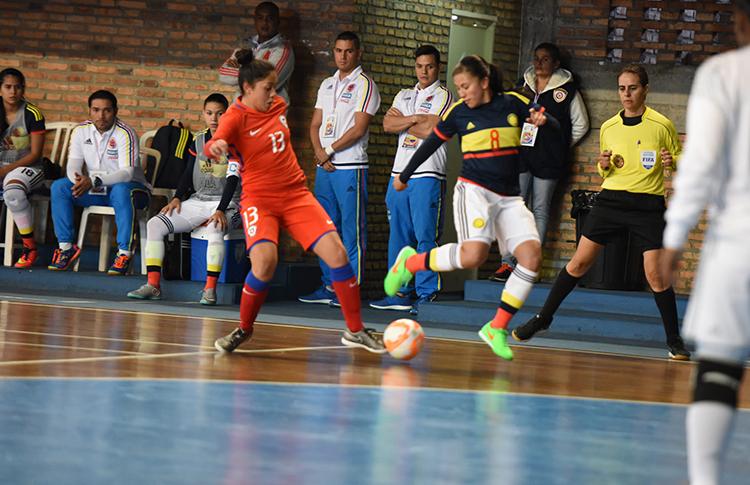Colombia y Paraguay aseguran su paso a semifinales en el Sudamericano Sub-20 de Futsal Femenino