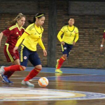El debut goleador de Colombia en el Sudamericano Femenino Sub-20 de Futsal