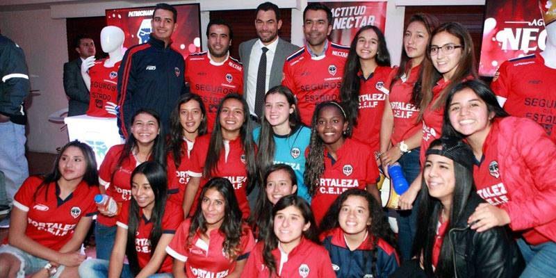 Fortaleza Cundinamarca presentó su equipo femenino para la liga de 2017