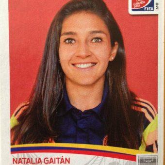 Natalia Gaitán Laguado, nuestra capitana una vez más